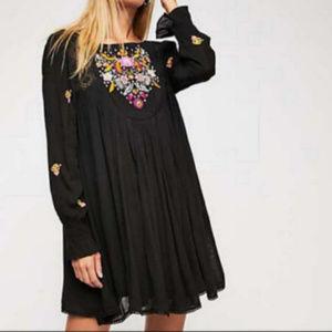 NWT Free People Embroidered Mini dress